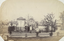 View in the Graveyard, Lucknow Residency.